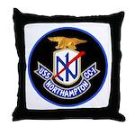 USS Northampton (CC 1) Throw Pillow