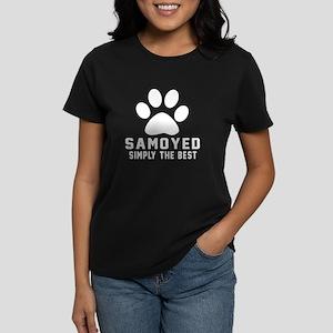 Samoyed Simply The Best Women's Dark T-Shirt