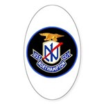 USS Northampton (CC 1) Oval Sticker