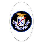 USS Northampton (CC 1) Oval Sticker