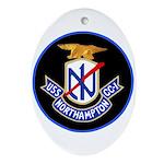 USS Northampton (CC 1) Oval Ornament