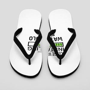 Please wait, Installing Water Polo Skil Flip Flops