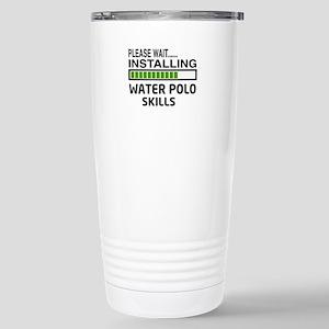 Please wait, Installing Stainless Steel Travel Mug