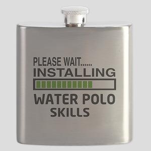 Please wait, Installing Water Polo Skills Flask