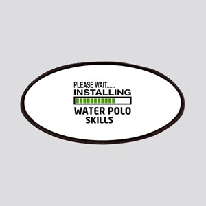 Please wait, Installing Water Polo Skills Patch