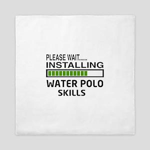 Please wait, Installing Water Polo Ski Queen Duvet