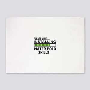 Please wait, Installing Water Polo 5'x7'Area Rug
