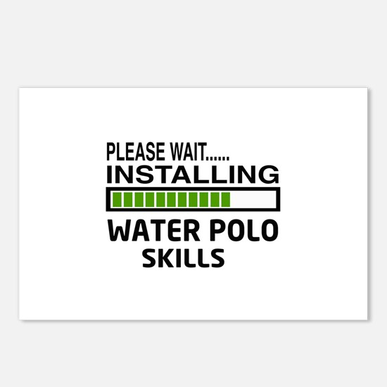 Please wait, Installing W Postcards (Package of 8)