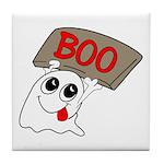 Ghost Boo Tile Coaster