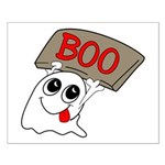 Ghost Boo Small Poster