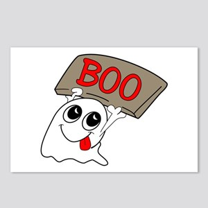Ghost Boo Postcards (Package of 8)