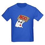 Ghost Boo Kids Dark T-Shirt