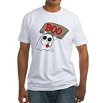 Ghost Boo Fitted T-Shirt