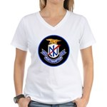 USS Northampton (CC 1) Women's V-Neck T-Shirt