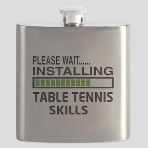 Please wait, Installing Table Tennis Skills Flask