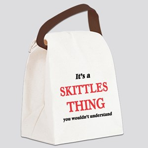 It's a Skittles thing, you wo Canvas Lunch Bag