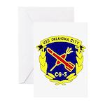 USS Oklahoma City (CG 5) Greeting Cards (Pk of 20)