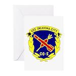USS Oklahoma City (CG 5) Greeting Cards (Pk of 10)