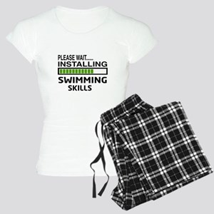 Please wait, Installing Swi Women's Light Pajamas