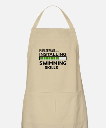 Please wait, Installing Swimming Skills Apron