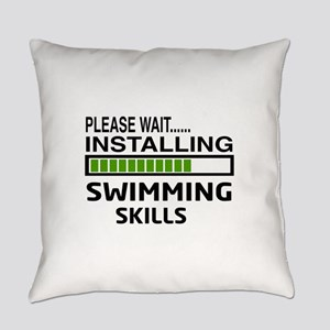 Please wait, Installing Swimming S Everyday Pillow