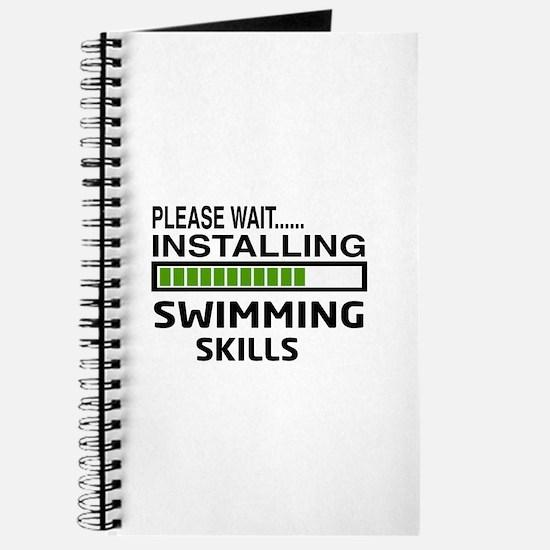 Please wait, Installing Swimming Skills Journal