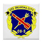 USS Oklahoma City (CG 5) Tile Coaster