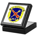 USS Oklahoma City (CG 5) Keepsake Box