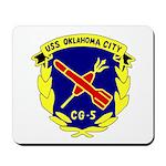 USS Oklahoma City (CG 5) Mousepad