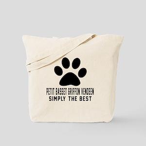 Petit Basset Griffon Vendeen Simply The B Tote Bag