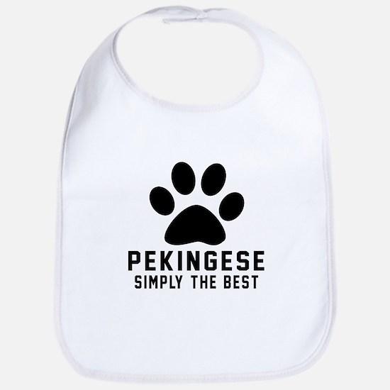Pekingese Simply The Best Bib