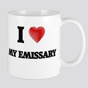 I love My Emissary Mugs