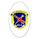 USS Oklahoma City (CG 5) Oval Sticker