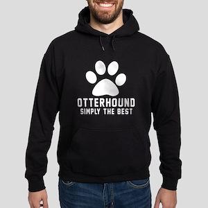 Otterhound Simply The Best Hoodie (dark)