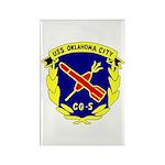 USS Oklahoma City (CG 5) Rectangle Magnet