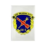 USS Oklahoma City (CG 5) Rectangle Magnet (100 pac
