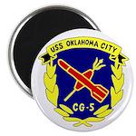 "USS Oklahoma City (CG 5) 2.25"" Magnet (10 pack)"