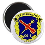 "USS Oklahoma City (CG 5) 2.25"" Magnet (100 pack)"