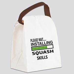 Please wait, Installing Squash Sk Canvas Lunch Bag