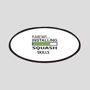 Please wait, Installing Squash Skills Patch