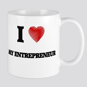I love My Entrepreneur Mugs
