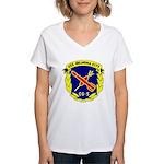 USS Oklahoma City (CG 5) Women's V-Neck T-Shirt