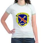 USS Oklahoma City (CG 5) Jr. Ringer T-Shirt