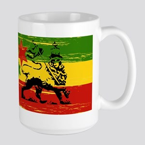 Rasta Lion Of Judah Herbal Tea Mugs