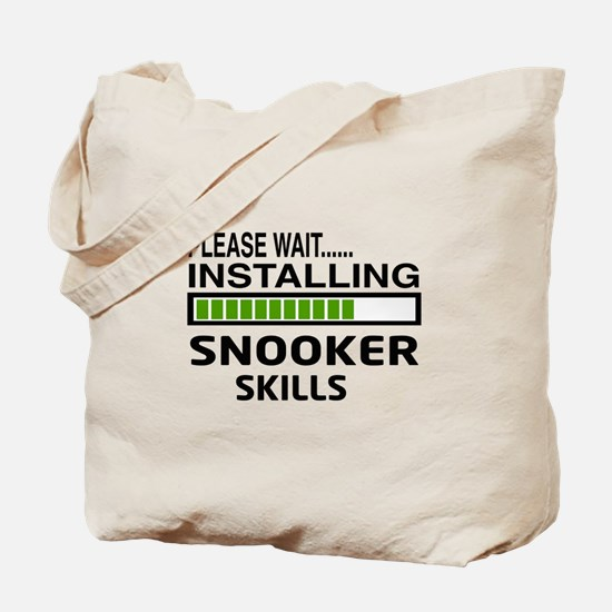 Please wait, Installing Snooker Skills Tote Bag