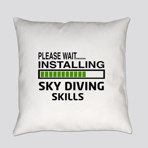Please wait, Installing Sky Diving Everyday Pillow
