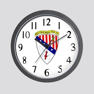 USS Chicago (CG 11) Wall Clock