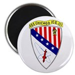 "USS Chicago (CG 11) 2.25"" Magnet (100 pack)"