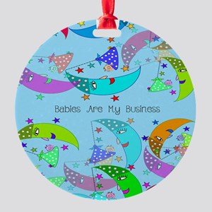 NICU Nurse Round Ornament