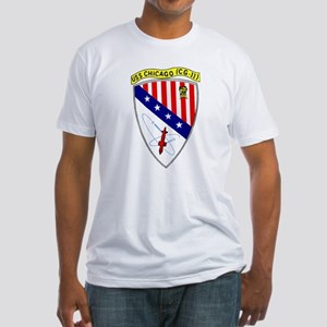 USS Chicago (CG 11) Fitted T-Shirt